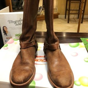Vintage leather boots from Banana Republic